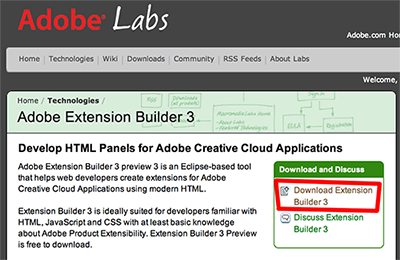 HTML5 extensions for Creative Cloud, part 1 | aphall com
